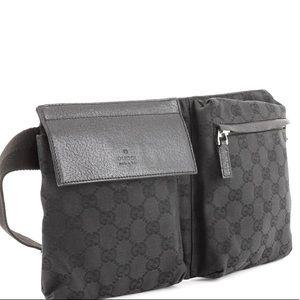 Vintage Gucci Monogram Belt bag